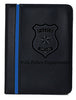 Police Thin Blue Line Padfolio Memo Pad Holder - Upload Your Custom Design - 40 Padfolios