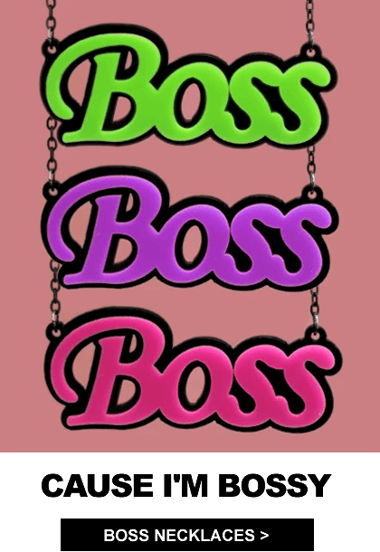 Boss Necklaces