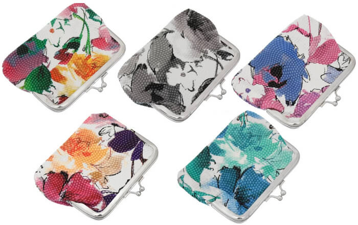 Floral Mini Wallets