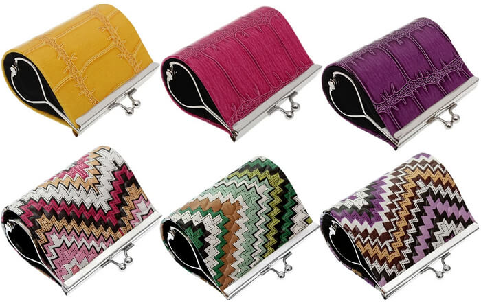 Colorful Mini Wallets