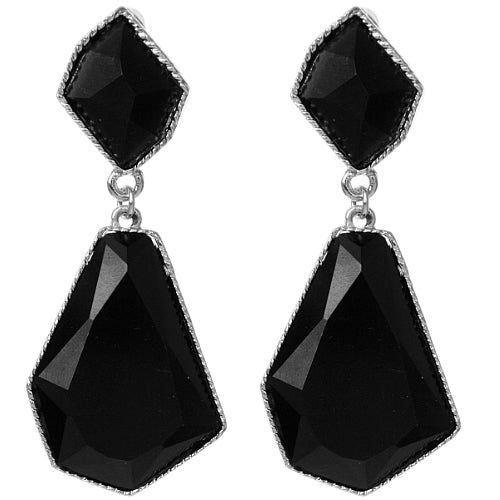Black Bubble Earrings
