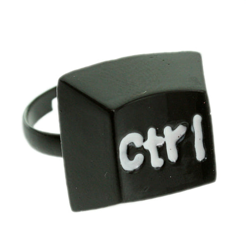 Black Keyboard CTRL Key Adjustable Ring