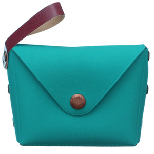 Blue Mini Wristlet Wallet