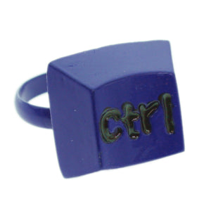 Blue Keyboard CTRL Key Adjustable Ring