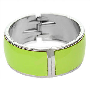 Green Lightweight Hinged Bracelet