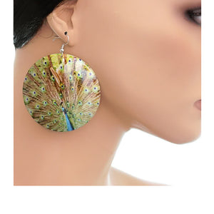 Bird Peacock Earrings