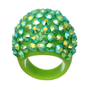 Green Sparkle Ring