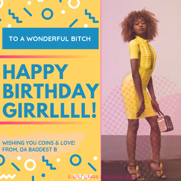 Happy Birthday GIRRLL | eGift Card