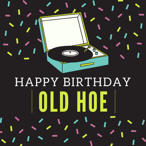 Happy Birthday Old Woman | eGift Card
