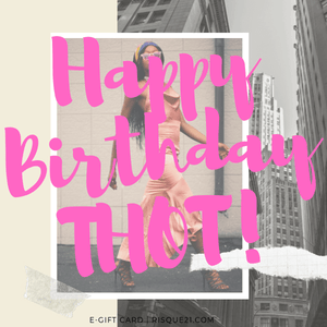 Happy Birthday Thot | E-Gift Card