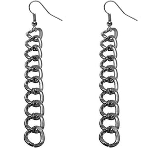 Hematite Dangle Earrings
