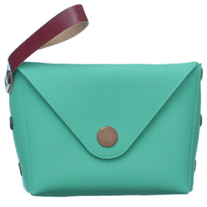 Mint Mini Wristlet Wallet