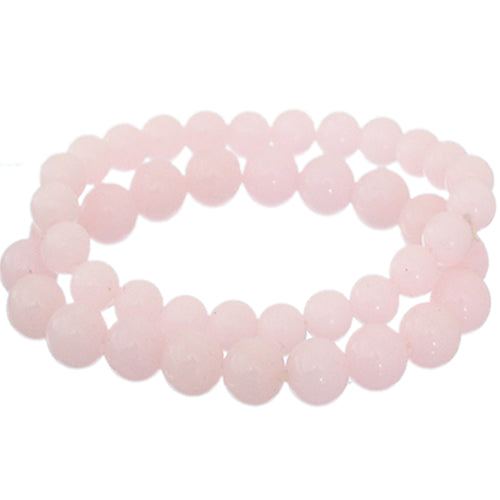 Light Pink 2-Piece Beaded Stretch Bracelets
