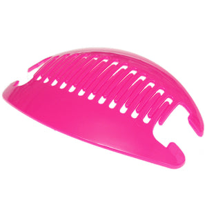 Pink Oversized Banana Hair Clip