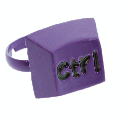 Purple Keyboard CTRL Key Adjustable Ring