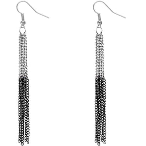 Two One Chain Earrings