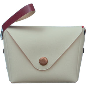 White Mini Wristlet Wallet