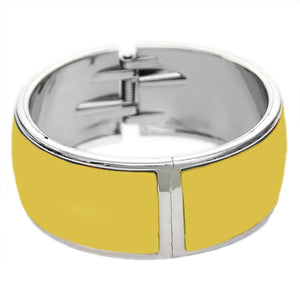Yellow Lightweight Hinged Bracelet