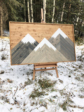 5 x 3 FEET Light Mountains