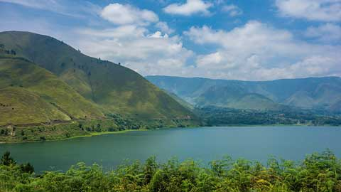 lac toba indonesie