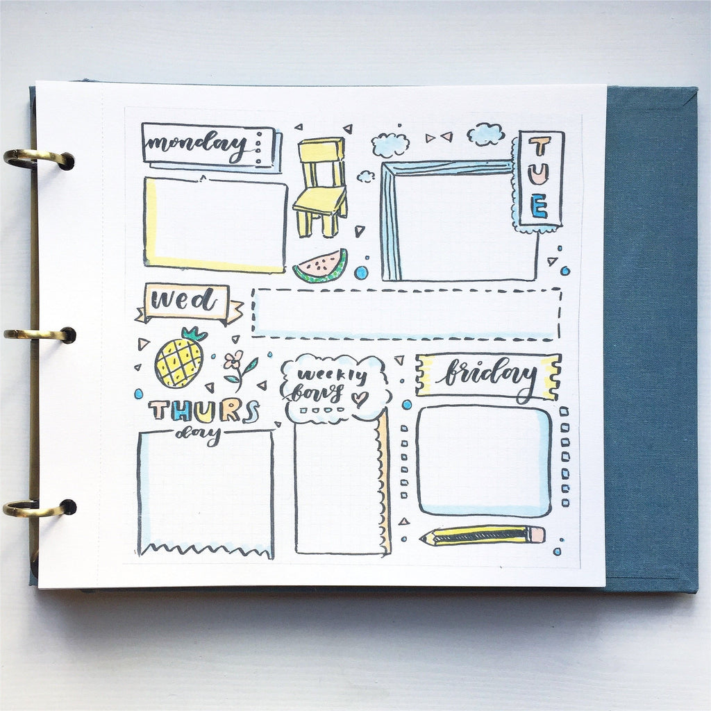 WEEK + DAILY SHEETS