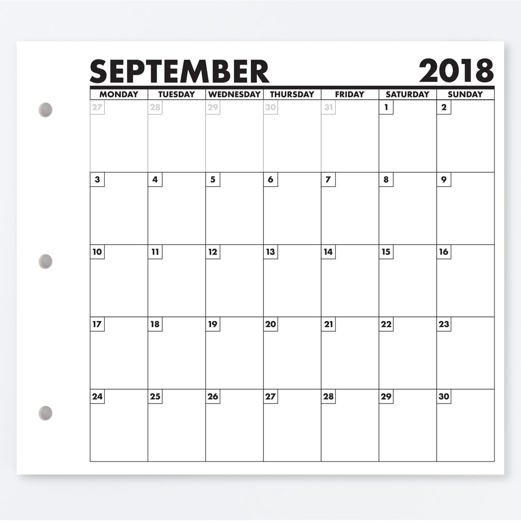 PLANALOG™ MONTHLY CALENDARS