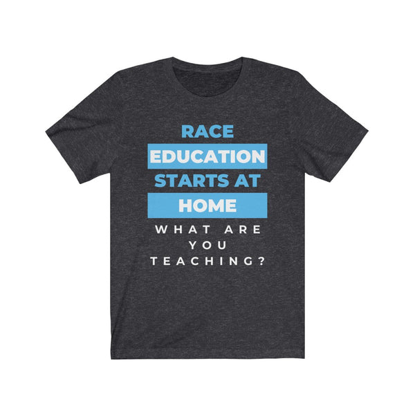 Race Education Unisex Short Sleeve Tee