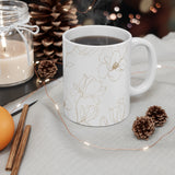 Golden Magnolia Mug