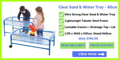Ed-Ex Clear Sand & Water Tray