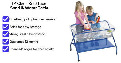 TP Clear Rockface Sand & Water Table
