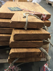 stack of wooden cutting boards