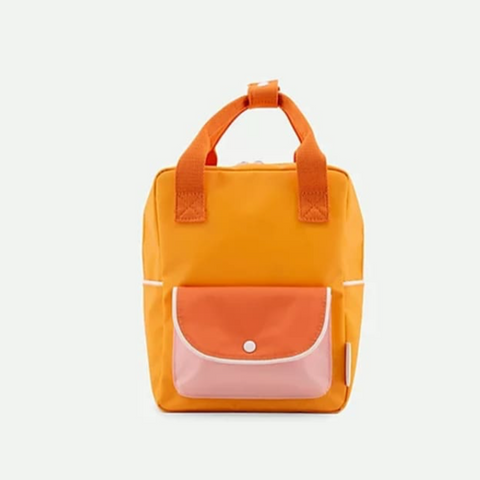 "SMALL BACK PACK ""WANDERER"" - STICKY LEMON"