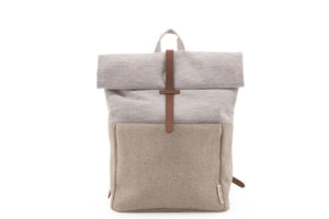 BACKPACK LINEN + JUTE