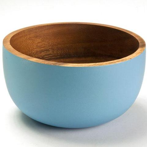 The large Acacia Bowl by Kinta in light blue.