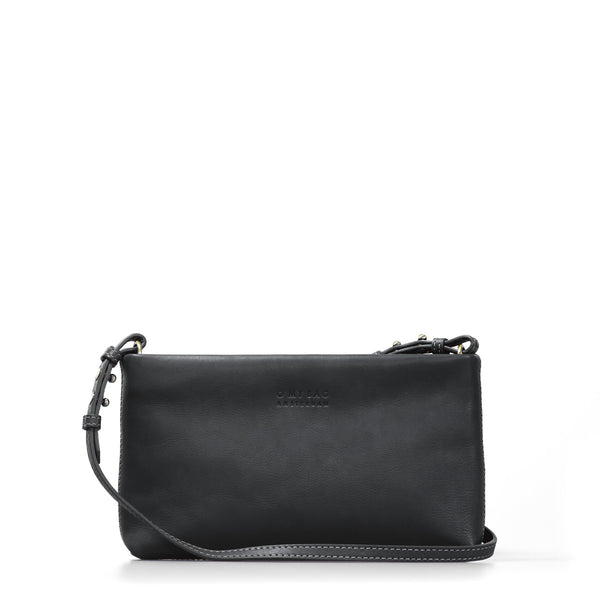 The Dashing Daisy Eco Midnight Black Bag by O My Bag on a white background.