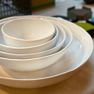 URBAN NOMAD BOWL - WHITE - MULTIPLE SIZES XS-XL