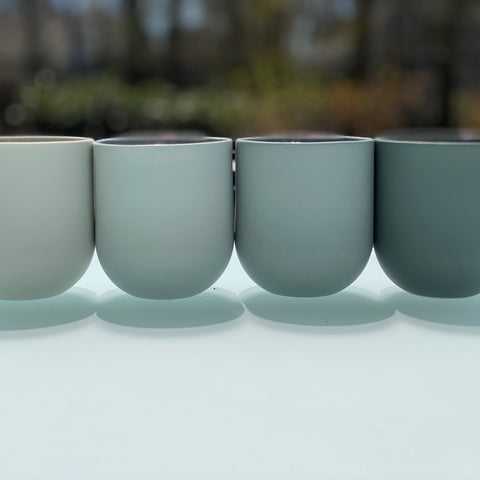 MUG - SUM GRADIENT - SMOOTH - set of 4