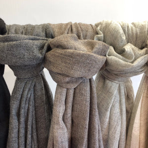 EXTRA LIGHTWEIGHT CASHMERE SCARF