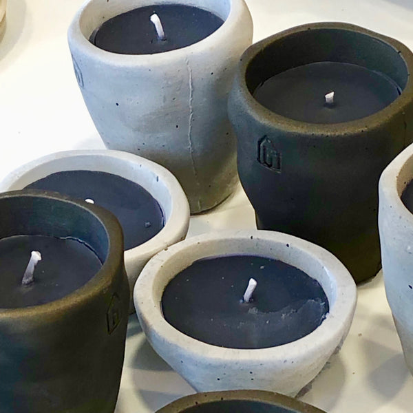SCENTED CANDLES - LETT - 2 sizes