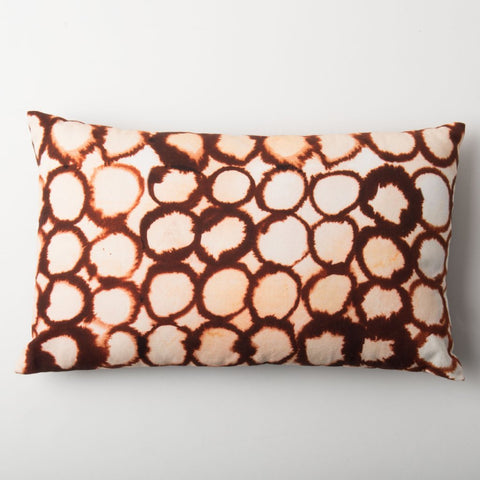 The Sado Cushion by Urban Nature Culture against a white background.