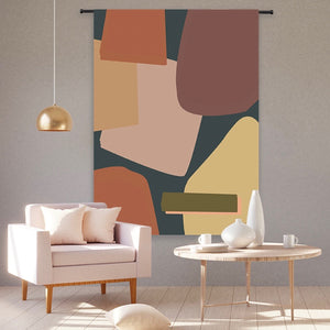 ORGANIC COTTON WALL HANGING TAPESTRY