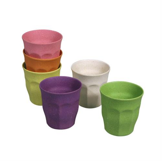 CUPFUL OF COLOUR SET OF 6 CUPS - SMALL