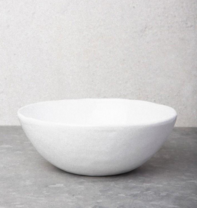 URBAN NOMAD BOWL - WHITE - MULTIPLE SIZES XS-XL - Uniek Living