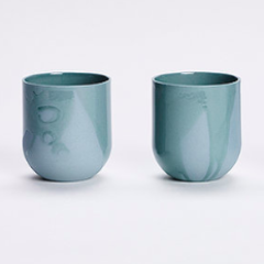 SUM MONO MUGS - RAW - SET OF 4 - Uniek Living