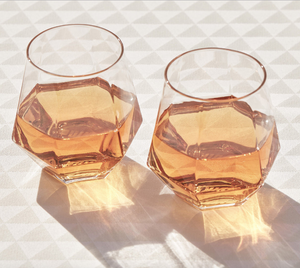 DRINKING GLASSES - RADIANT - set of 2