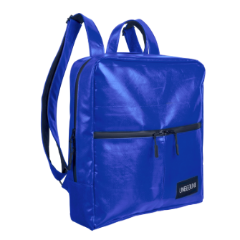The Alberty Cuyp waterproof backpack in blue.