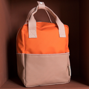 SMALL BACKPACK COLOR BLOCKING