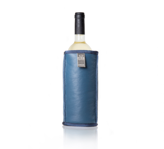 LEATHER WINE COOLER - 100% NATURAL SHEEPSKIN