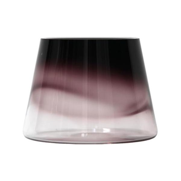 HURICANE GLASS CANDLE HOLDER / VASE - Uniek Living