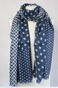 The Bandini 100% Cashmere Scarf by Sjaelz & More.